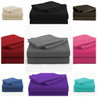 3 Piece Bed Sheet Set 1800 thread count 16''Deep Pocket , Twin  image