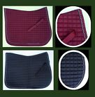 PONY Moisture Wicking Quilted All Purpose Saddle Pad crystal trim Bling -HORZE