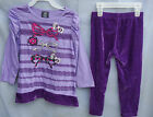 HART STREET Paisley Purple VelourTunic Set w/Velour Leggings GIRL* SIZES NWT