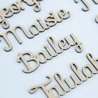 Script Bespoke Personalised Names, Letters Or Words. Wooden Christmas Eve Box Sf