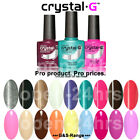 Crystal-G Shellac UV LED Gel Polish, Extend Classic Colours Gel Package Deal