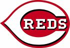 Cincinnati Reds Baseball Decal Sticker Self Adhesive Vinyl