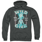 Betty Boop Wild One Pullover Hoodies for Men or Kids $41.6 USD