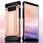 For Samsung Galaxy Note 8 S8 Plus Rugged Shockproof Bumper TPU Armor Case Cover