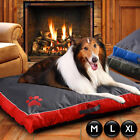 Pet Bed Mattress Dog Cat Pad Mat Cushion Pillow Soft Canvas Comfy Orthopedic bed