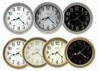 8.5 Inch Metal Clock Quality Water Resistant Office, Boats,RV, Bus, Wall Decor