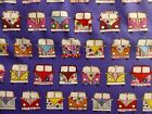 VW Camper Van Purple Cotton Fabric Material Retro Hippy 60s Craft Quilt FQ Metre