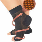COPPER Compression Foot Sleeves Angel Socks Plantar Ankle Swelling Pain (S~XL)