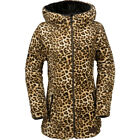 VOLCOM BUTTER SHERPA JACKET CHEETAH