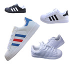 Kyпить New Women Mens Lace Up Trainers Shoes Superstar Casual Leather Sneakers Flats UK на еВаy.соm
