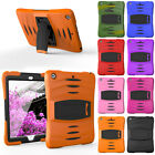 Heavy Duty Shockproof Hybrid Rugged Rubber Skin Case Cover For iPad Mini 1 2 3 4