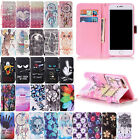Protective Enclose Magnetic Leather Wallet Card Holder Case For iPhone 8 Plus / 8