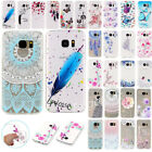 For Samsung Galaxy Phones Painted TPU Rubber Gel Soft Slim Skin Back Case Cover