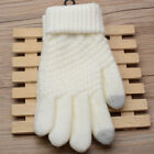 Womens Mens Touch Screen Wool Knit Winter Gloves Warm Texting Smartphone Phone