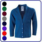 "Brand New Good Quality Womens Girls School Knitted Cardigans sizes 24""-44""(2510)"