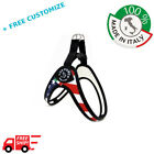 """DOG HARNESS FOR SMALL DOGS """"NATIONS"""" USA 100% Made In Italy TRE PONTI"""