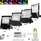 2.4G Milight 10W 20W 30W 50W RGB+CCT LED Outdoor Wall Washer Floodlight Light