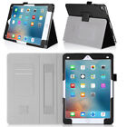 """Luxury PU Leather Card Stand Smart Sleep/Wake Case Cover For Apple 9.7"""" iPad Pro"""