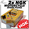 2x NGK Spark Plugs for HONDA 125cc XL125V Varadero 01-> No.5666