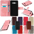For Samsung Galaxy NOTE 5 4 3 Shockproof Wallet Leather Card Holder Case Cover
