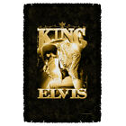 ELVIS PRESLEY THE KING THROW BLANKET FREE SHIPPING IN US