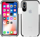For iPhone X / 8 Plus / 8 Shockproof Slim Clear TPU Bumper Rubber Gel Case Cover