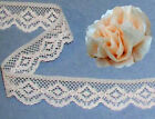 "Lace Trim Beige Scallop 7/8"" Clothing Craft Doll Lace R132V Added Trim ShipFree"