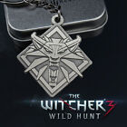 USA The Witcher 3 Wild Hunt Witcher 3D School of the Wolf Keyring With Box Gift