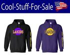 Los Angeles Lakers Basketball Pullover Hooded Sweatshirt on eBay