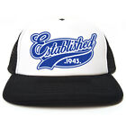 Established 1943 Hat - Funny Retro Trucker Cap - Birthday / Christmas Gift Idea