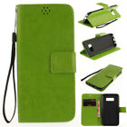 Leather Magnetic Flip Stand Card Slot Wallet Case Cover For Various Phone