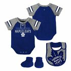 Toronto Maple Leafs NHL Infant Creeper, Bib & Bootie $26.99 USD on eBay