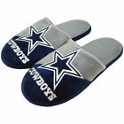 Dallas Cowboys Colorblock Slide Slippers New  Style NFL