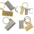 Creative Variety Chinese Style Spinning Abacus Key Chain Ring Keychain Keyfob