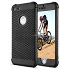 For iPhone 8 / 8 Plus Slim Lightweight Breathable Cooling Mesh Hard Bumper Case