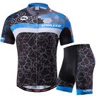 Pro Team Cycle Jersey Shorts Sets Mens MTB Biking Clothes Lycra Short Pants Kits