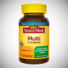Nature Made Multi Complete with Iron  - 130 Multi Vitamin Tablets $12.99 USD on eBay