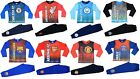 Football Club Pyjamas Boys Girls Manchester Utd, Liverpool, Barca, + many more