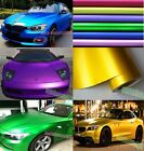 Full Roll - Car Styling Metallic Matte Chrome Ice Vinyl Film Wrap Sticker Decal