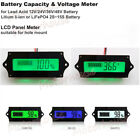 Внешний вид - Lead Acid Lithium Li-ion Battery BMS Capacity Level Indicator LCD Voltage Meter