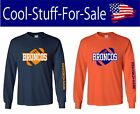 Denver Broncos Football Long Sleeve Shirt $27.19 USD on eBay