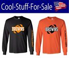 Cleveland Browns Football Long Sleeve Shirt $35.99 USD on eBay