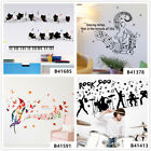 Music Note. Dance Home Room Decor Removable Wall Stickers Decals Wandbilde