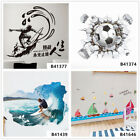 Sports Surfing Football Home Room Decor Removable Wall Stickers Decals Wandbilde