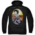 Betty Boop Wild Biker Pullover Hoodies for Men or Kids $37.3 USD