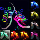 LED shoelaces light up halloween costume glow in the dark party rave flashing