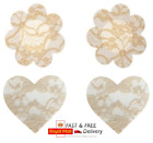 5 pairs NUDE lace breast cover Women's Sticker Nipple Covers pasties PETAL