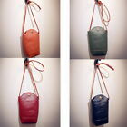 Classic Women Mini Casual PU Leather Crossbody Bucket shoulder bag handbag