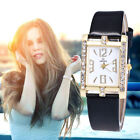 Fashion Women's Ladies Watches Leather Stainless Steel Quartz Analog Wrist Watch