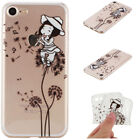 For iPhone 8  - 7 - 7 Plus Painted Shockproof Soft TPU Silicone Case Phone Cover